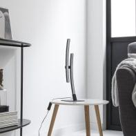 Lampada da tavolo Moderno Beryl nero , in alluminio, INSPIRE