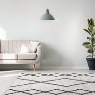Tappeto Tribe B , bianco, 160x230 cm