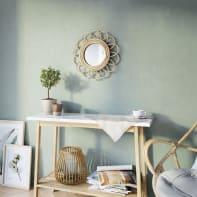 Specchio a parete tondo Flower naturale 30 cm INSPIRE