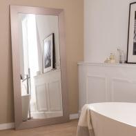 Specchio a parete rettangolare Loft argento 87x187 cm INSPIRE