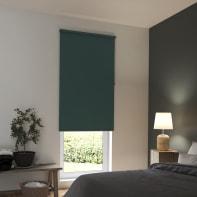 Tenda a rullo INSPIRE Tokyo oscurante verde 105x250 cm