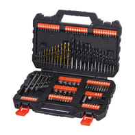 Set di punte BLACK + DECKER 109 pezzi