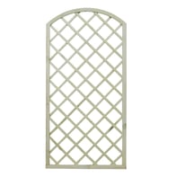 Pannello reticolato in legno Diagonale arco 90 x 180 cm
