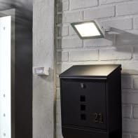 Proiettore LED integrato Yonkers in alluminio, bianco, 30W 2700LM IP65 INSPIRE