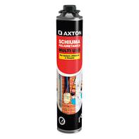 Schiuma espansa poliuretanica AXTON Sschiuma+pistola giallo per pannello 750 ml ml
