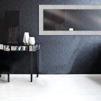 Specchio a parete rettangolare Vela argento 59x159 cm