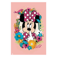 Poster Poster 61x91,5 cm Disney Minnie 61x91.5 cm