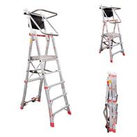 Scala telescopica FARAONE in alluminio per lavori fino a 3.1 m