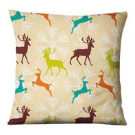 Fodera per cuscino Renne multicolore 45x45 cm