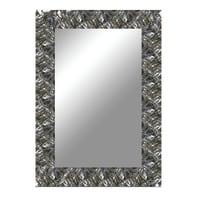 Specchio a parete rettangolare Capua argento 99x139 cm