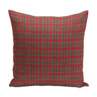 Cuscino Tartan rosso 40x40 cm