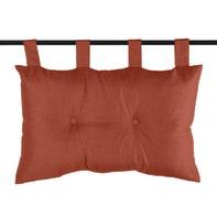 Cuscino Testata letto Bea terracotta 70x70 cm