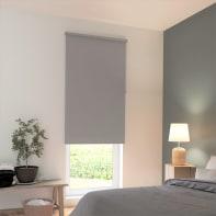 Tenda a rullo INSPIRE Tokyo oscurante grigio 200x250 cm