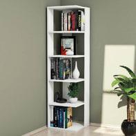 Libreria Corner L 41.8 x P 41.8 x H 160.8 cm