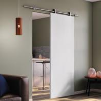 Porta scorrevole con binario esterno Renoir in legno laminato Kit Toledo L 92.5 x H 211 cm