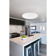 Plafoniera moderno Totari-C LED integrato bianco, in policarbonato,  D. 60 cm 60 cm, EGLO