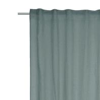 Tenda INSPIRE Abby verde salvia fettuccia e passanti 200 x 280 cm