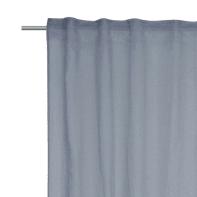 Tenda INSPIRE Abby blu fettuccia con passanti nascosti 200 x 280 cm