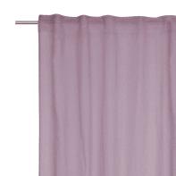 Tenda INSPIRE Abby viola fettuccia con passanti nascosti 200 x 280 cm