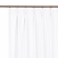 Tenda INSPIRE Carol bianco fettuccia con passanti nascosti 200 x 280 cm