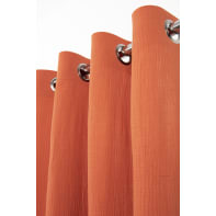 Tenda Maja arancio anelli 130 x 280 cm