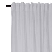 Tenda INSPIRE Lino grigio fettuccia con passanti nascosti 140 x 280 cm