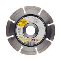 Disco diamantato con corona continua segmentata Ø 115 mm
