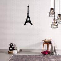 Decorazione da parete Metal Torre Eiffel 22x48 cm