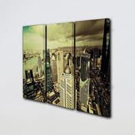 Quadro su tela City View 69x50 cm