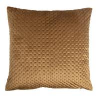 Cuscino Cheryl cammello 40x40 cm Ø 52 cm