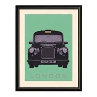 Stampa incorniciata London 20x26 cm