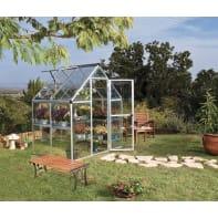 Serra da giardino VERDEMAX Doritis Mini H 209 cm, L 185 x P 122 cm
