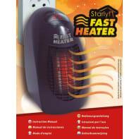 Termoventilatore ceramico mobile VENTEO Starlyf Fast Heater nero 400 W