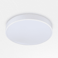 Plafoniera design Hey LED integrato bianco, in ferro,  D. 35 cm