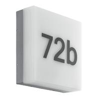 Plafoniera Cornale LED integrato in plastica, antracite, 8.2W 820LM IP44 EGLO