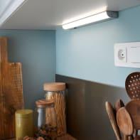 Reglette Melfi LED integrato 40 cm 3.8W 290LM IP20 Inspire
