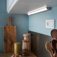 Reglette Melfi LED integrato 60 cm 5W 440LM IP20 Inspire