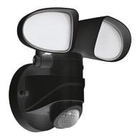 Proiettore LED integrato con sensore di movimento Pagino in policarbonato, nero, 6W 1800LM IP44 EGLO