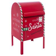 Cassetta postale rosso L 28.5 x P 26.5 x H 52 cm