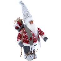 Figura natalizia multicolore L 18 x P 13 x H 43 cm