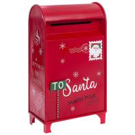 Cassetta postale rosso L 41 x P 24.5 x H 76 cm