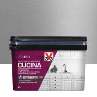Smalto mobile cucina V33 2 l inox