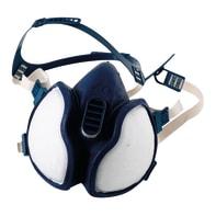 Maschera 3M Contro le esalazioni / particelle di vernice