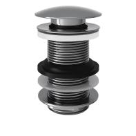 Valvola di drenaggio per lavabo / lavamani / vasca cromato EQUATION click-clack