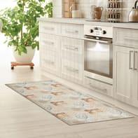 Tappeto cucina antiscivolo Relax nordic grigio medio 50x100 cm
