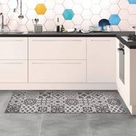 Passatoia Relax ceramic , grigio medio, 50x130