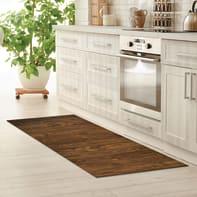 Passatoia Full legno , marrone, 55x180