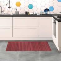 Tappeto cucina antiscivolo Open rosso 50x110 cm