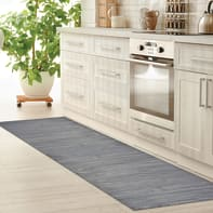 Tappeto Full legno , grigio, 55x280 cm