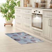 Tappeto cucina antiscivolo Full cuore grigio 55x100 cm